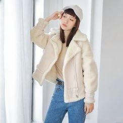 AC - Two-Tone Lapel Coat