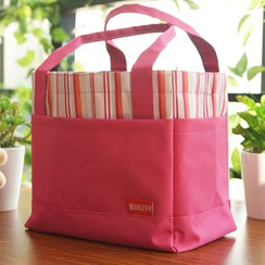 Gukan - Panel Drawstring Lunch Bag