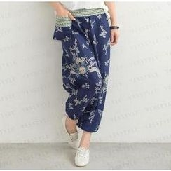 SO Central - Patterned Saruel Pants