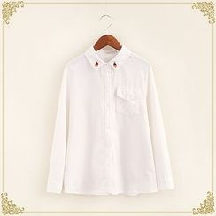 Fairyland - Embroidered Corduroy Shirt