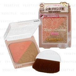 Canmake - Cheek and Bronzer SPF 26 PA+++ (#02 Natural Bronze)