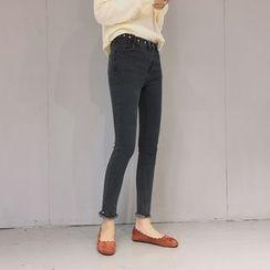 Sheeno - Fray Skinny Jeans