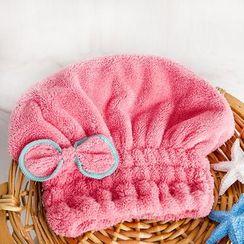 LOML - 蝴蝶結乾髮帽