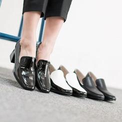VIVIER - Chunky-Heel Loafers