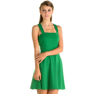 YesStyle Z - Cross-Back Skater Dress