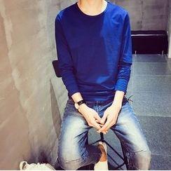 子俊 - 纯色长袖T恤