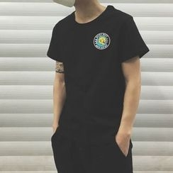 Milioner - Tiger Print Short-Sleeve T-shirt