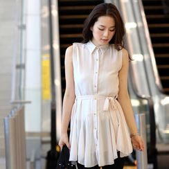 59th Street - Sleeveless Shirtdress