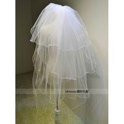 idresses - 蕾丝婚礼头纱