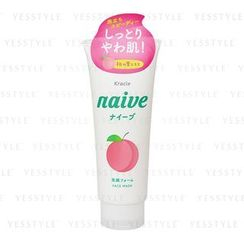 Kracie - Naive 植物性泡沫洗面膏 (香桃)