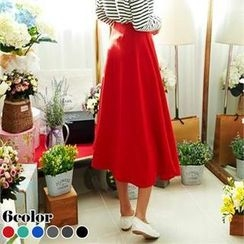 ANNINA - A-Line Long Skirt