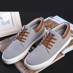 Renben - Contrast-Trim Casual Shoes