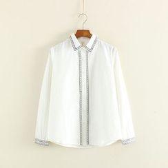 Mushi - Embroidered Shirt