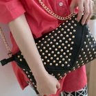 CatWorld - Chain-Strap Studded Shoulder Bag