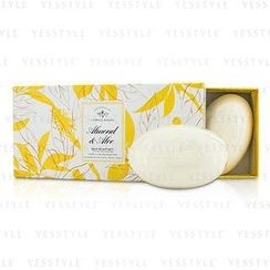 Caswell Massey - Almond and Aloe Bar Soap Set