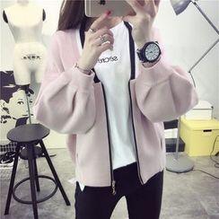 Qimi - 拉链开衫
