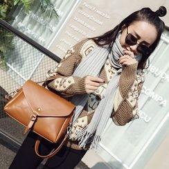 Beloved Bags - 純色仿皮手提包