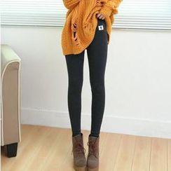 Wawa.Du - Fleece-Lined Leggings