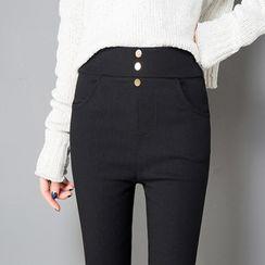 Hyoty - 高腰窄身褲