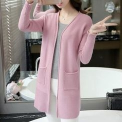 Hibisco - Plain Long Cardigan