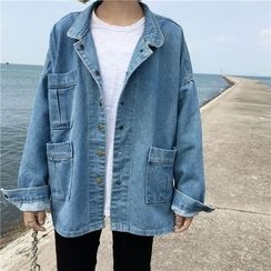 Anlay - Loose-Fit Washed Denim Jacket