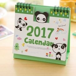 Red Unicorn - 2017 Desk Calendar