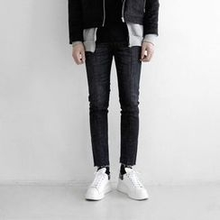 Seoul Homme - Frau-Hem Straight-Cut Jeans