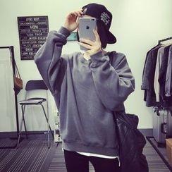 A7 SEVEN - Plain Sweatshirt