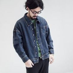 YIDESIMPLE - Denim Jacket