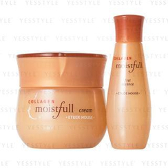 Etude House - Collagen Moistfull Cream Set (2 items): Cream 60ml + Essence 20ml