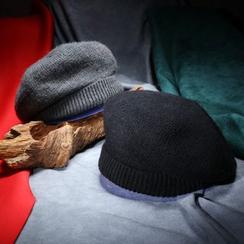 Mad Hatter - Plain Knit Beret