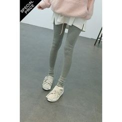 ATTYSTORY - Brushed-Fleece Lined Leggings