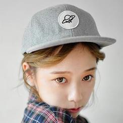 卿本佳人 - UFO 貼布繡棒球帽