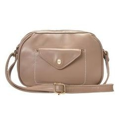 ans - Faux-Leather Crossbody Bag