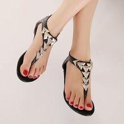 Balloonana - Rhinestone Sandals