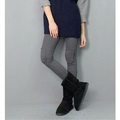Shandie - Fleece-Lined Maternity Leggings