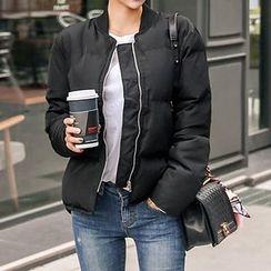 Seoul Fashion - Zip-Up Padded Jacket
