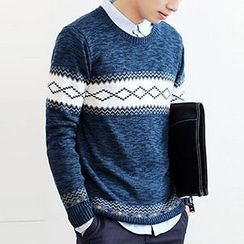 Really Point - Pattern Knit Top