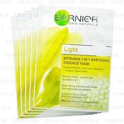 Garnier - Light Intensive 3 in 1 Whitening Essence Mask (Yellow)