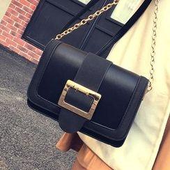 Youshine - Buckled Shoulder Bag
