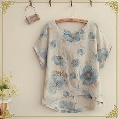 Fairyland - Short-Sleeve Floral T-Shirt