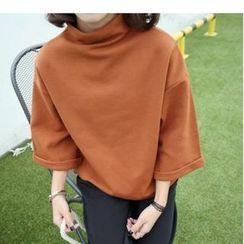 MATO - Mock-Neck Pullover