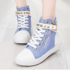Lutin - Studded High-Top Sneakers
