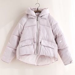11.STREET - Plain Padded Coat