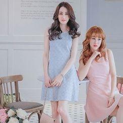Tokyo Fashion - Embellished Sleeveless Dress