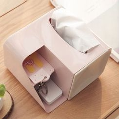 Class 302 - Tissue Box with Organizer