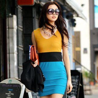 SO Central - Sleeveless Shirt Dress