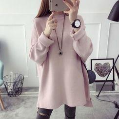 Qimi - Plain Knit Tunic