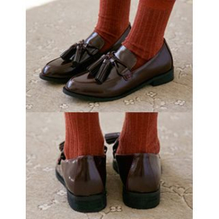FROMBEGINNING - Tassel-Detail Loafers