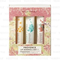 Nature Republic - Provence Lip Essence 3 Set: Chamomile 15g + Herbmint 15g + Rose Hip 15g